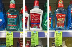 Colgate Mouthwash, Only $0.32 at Walgreens!