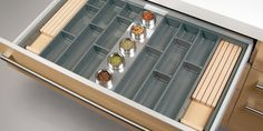 Cucine Oggi - Interiores de cajón - Cuberteros ABS  www.cucineoggi.com