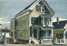 "The Original Edward Hopper Houses - Photo Essay - NYTimes.com (""Anderson's House,"" MFA, Boston) Photographs by GAIL ALBERT HALABAN"