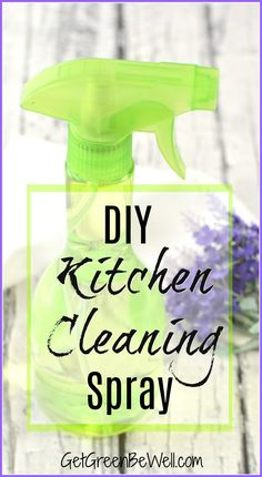 Vinegar cleaner that doesn't smell bad! This DIY scented vinegar cleaning spray is made with non-toxic ingredients that are safe for you. Create a healthy home every time you clean with this homemade cleaner. See how to make it.