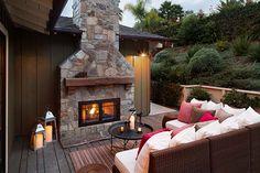 Beautiful ranch style coastal home in San Diego, California