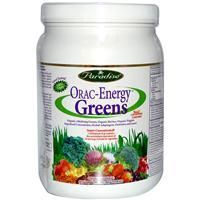 20 Green Superfoods Rated: Paradise Herbs ORAC Energy organic green drink powdered superfoods