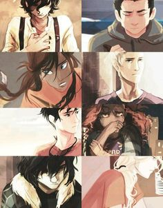 The Seven and Nico | Heroes of Olympus | Viria
