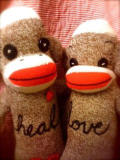 Heal and Love Healing Images, Sock Monkeys, Little My, Art Therapy, Weave, Cancer, Journey, Stitch, Dolls