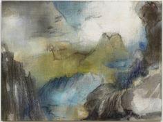 LEIKO IKEMURA L2, 2012 Pigment, ink, oil on jutE 120.00 x 160.00 cm (47 7/29 x 63 in.) LI010