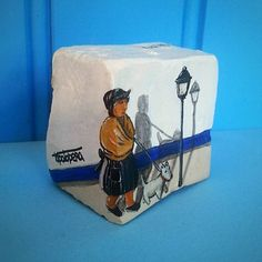 #pedradacalcada#stonepainting#nazare#portugal#souvenirs#3d#original#artesanato#art#nazarena#tipico