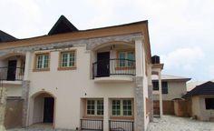 4 bedroom terraced house in #JohnOkafor - http://www.commercialpeople.ng/listing/253231014023344/ With #BoysQuarter #BQ
