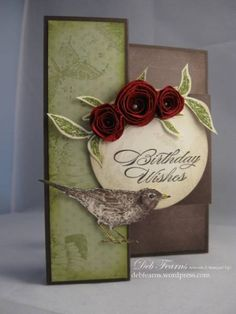Tri-Fold Card by Debbbbbbie - Cards and Paper Crafts at Splitcoaststampers