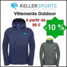 #missbonreduction; Remise de 10% sur tous les vêtements Outdoor à partir de 89€ de commande chez Keller Sports.http://www.miss-bon-reduction.fr//details-bon-reduction-Keller-sports-i853864-c1833835.html