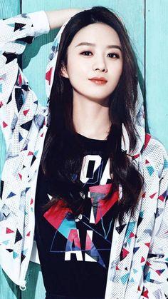 赵丽颖 Zhao Li Ying Korean Actors, Korean Actresses, Li Bingbing, Tiffany Tang, Gong Li, Jing Tian, Zhang Ziyi, Zhao Li Ying, Bts Jimin