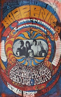 Jefferson Airplane, Buffalo Springfield, Electric Prunes, Shadows of Knight