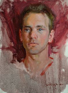 Head Study of Young Man