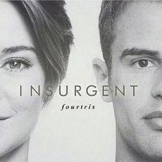 Black and white Fourtris fan art | Insurgent