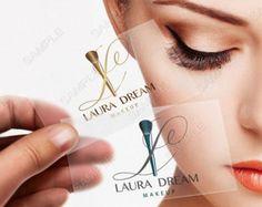 Mascara Makeup Artist Logo,makeup artist Pre made logo - logo - business logo… Más
