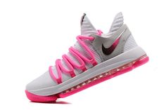 ce9347713d88 2017 Cheap Nike KD 10 Pink White Grey Silver On Sale-3 Kevin Durant  Basketball