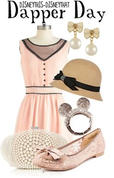 """Dapper Day"" by disneythis-disneythat ❤ liked on Polyvore"