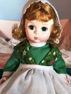 Vtg Madame Alexander Collector Doll Ireland #578 Little Women Tag With Box  #MadameAlexander
