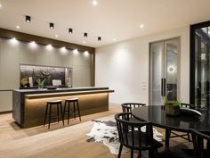 Auckland Office - DI LEGNO FLOORING Auckland, Conference Room, Table, Kitchens, Furniture, Home Decor, Homemade Home Decor, Kitchen, Meeting Rooms