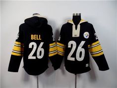 Nike Pittsburgh Steelers #26 LeVeon Bell Black Hoody Team Wear, Sport Wear, Le'veon Bell, Hooded Sweatshirts, Hoodies, Nhl Jerseys, Nike Nfl, Pittsburgh Steelers, Black Hoodie