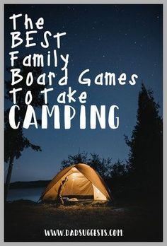 Board games 119978777560633833 - Get in the mood for a family camping trip with these awesome family board games – perfect for bringing with you to the woods. These are our favorite family games for camping. Source by momandkiddo Family Feud Game, Best Family Board Games, Board Games For Couples, Board Games For Kids, Couple Games, Family Game Night, Family Games, Family Camping Games, Camping List