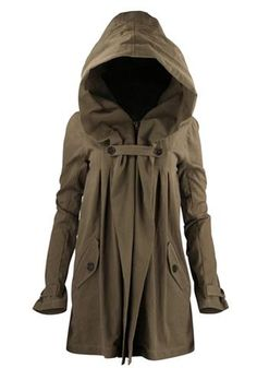 I love it but im so short id look like an Ewok lol..Nicholas K Anthro Jacket Taupe | New and Vintage Celebrity Style