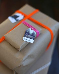 Gift wrap that can't get any more personal or pretty. Learn how to make your own (there's still time!). Start with your Instagram photos.