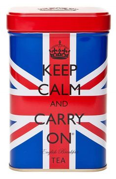 Keep Calm and Carry On Tea - Union Jack is a rich English Breakfast tea from Sri Lanka that is packed in the U.K.  It has that tea deliciousness for which I yearn.  For me, it is strong enough to make two cups from each tea bag.