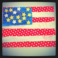 4th of July crafting :)