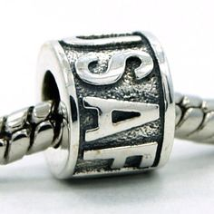 a773abb7d USAF United States Air Force Sterling Silver Bead Charm Air Force Mom, Bead  Shop,