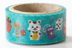 Round Top Die Cut Japanese Washi Masking by littlehappythings1, $9.00