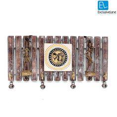 ExclusiveLane Dhokra And Warli Handpainted Key by ExclusiveLane