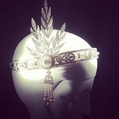 The Great Gatsby (2013) | The Tiffany & Co.  Savoy headpiece worn in the film by Carey Mulligan (Daisy Buchanan).