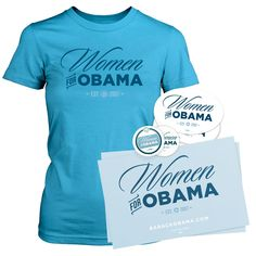 Just ordered my Women for Obama Party Pack