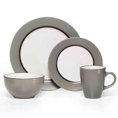 16 Piece Dinnerware Set  sc 1 st  Pinterest & Bianca Bead Round 16-Piece Dinnerware Set | florida kitchen ...