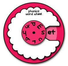 Phonics Wheel