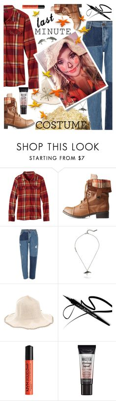 """""""Clock's Ticking: Last-Minute Halloween Costumes"""" by hubunch ❤ liked on Polyvore featuring beauty, prAna, Charlotte Russe, River Island, Marc Jacobs, Filù Hats, NYX, Maybelline and lastminutehalloweencostume"""