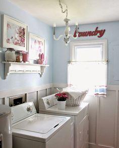 Ideias para decorar a área de serviço poster guia da lavanderia