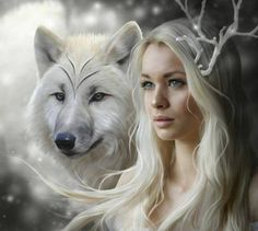 The wolves were her friends. Each and every one of them.