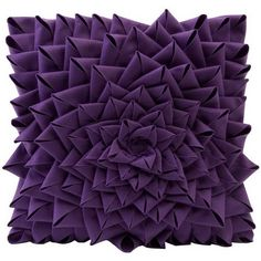 Dark Purple Color | Lilac Throw Pillows With Dark Purple Color