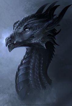 The Black Horns (Dragon) | Allagar