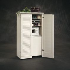 Sauder Harbor View Craft Armoire | from hayneedle.com