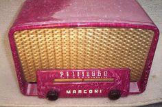 Marconi 301 1951 | eBay Radio Record Player, Record Players, Televisions, Tvs, Radios, Old School Radio, Radio Antigua, Music Machine, Raspberry Sorbet
