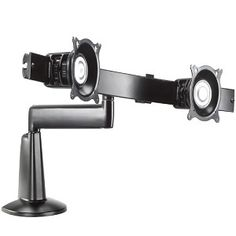 Chief Single Arm Desk Mount, Dual Monitor Array