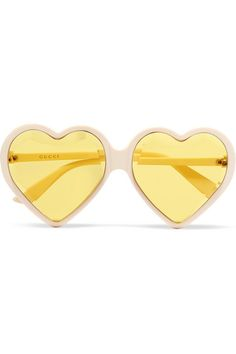 95f2af7461ff3 Gucci - Heart-shaped acetate sunglasses