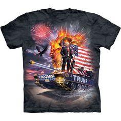 e37da15ec276  15.0 - President Trump Make America Great Again The Mountain Adult Size T- Shirts
