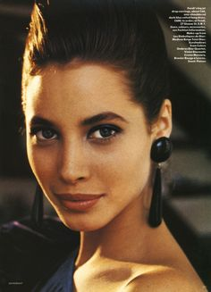 Vogue Uk Oct 1986 Christy Turlington Portrait of a new Star pg 4