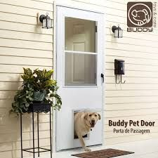 No cutting into your house for the doggie door! This LARSON storm ...