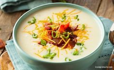How to Make 10 Minute Baked Potato Soup in an Instant Pot