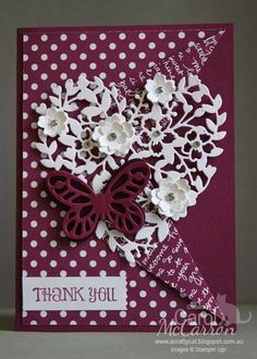 Stampin' Up! Bloomin Hearts thinlit die