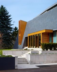 Toronto architecture firm BORTOLOTTO designed a contemporary home in King City, Canada.